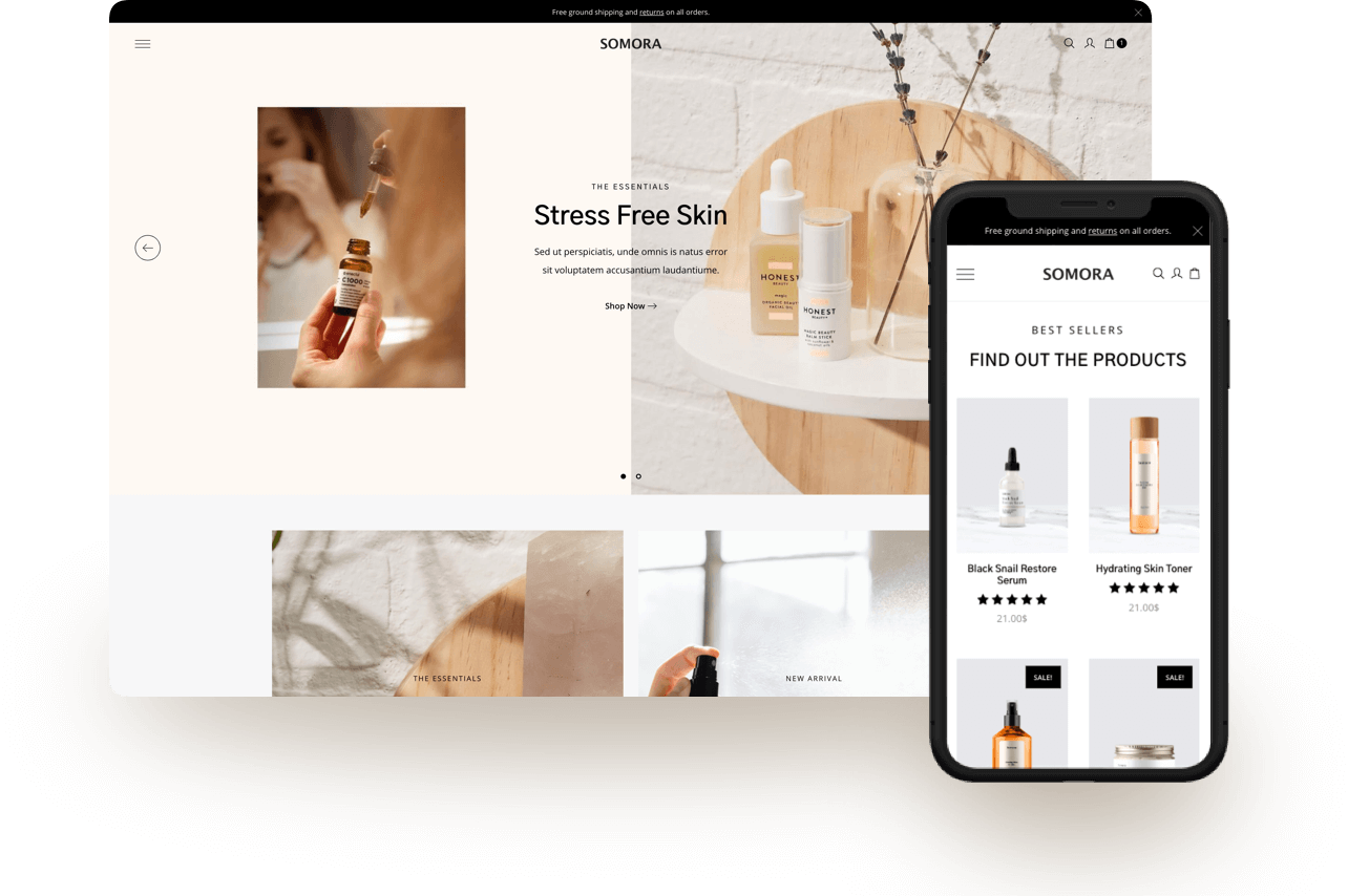 Somora WordPress Theme